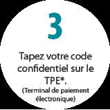 Tapez votre code