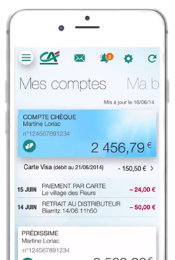 Cr dit agricole toulouse 31 application ma banque - Plafond virement credit agricole ...